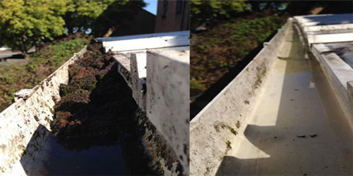 gutter cleaners ludgershall