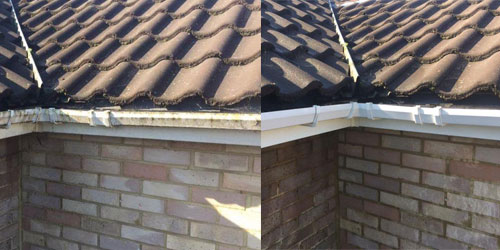 gutter cleaners in ludgershall